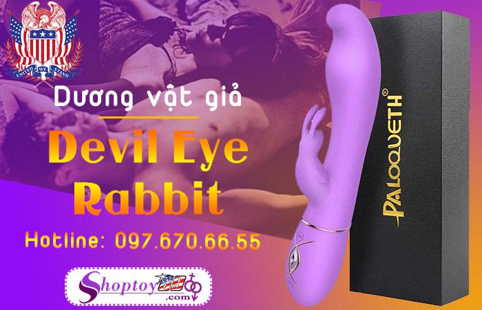 Dương vật giả Devil Eye Rabbit - Paloqueth USA có rung