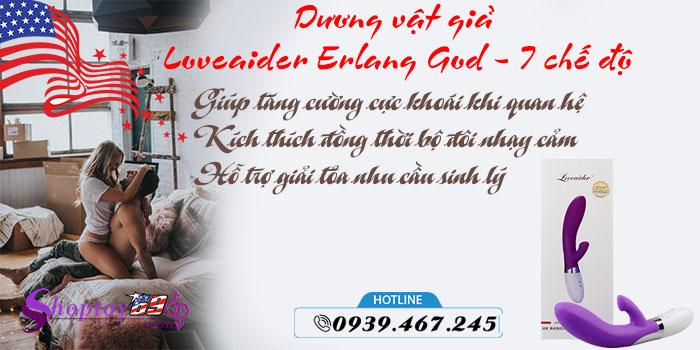 Công dụng Dương vật giả Loveaider Erlang God