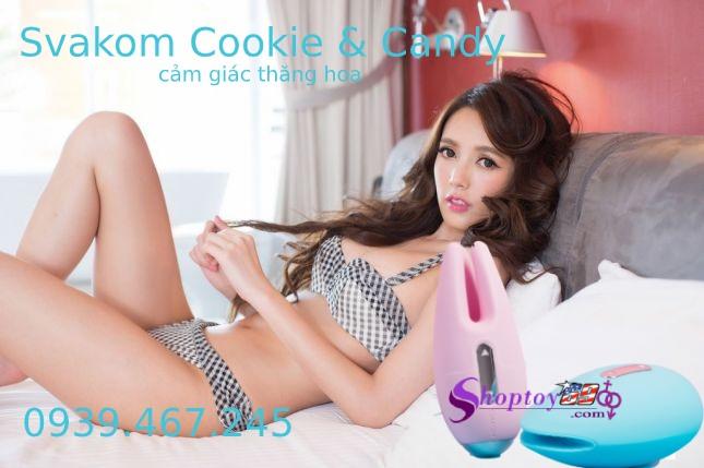 SVAKOM Cookie & Candy Máy rung dạo đầu