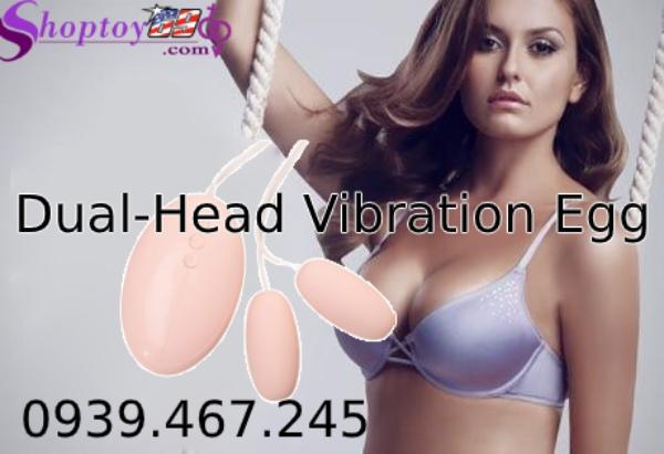 Trứng Rung Đôi Dual-Head Vibration Egg