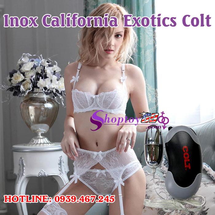 Trứng rung tình yêu Inox California Exotics Colt-3