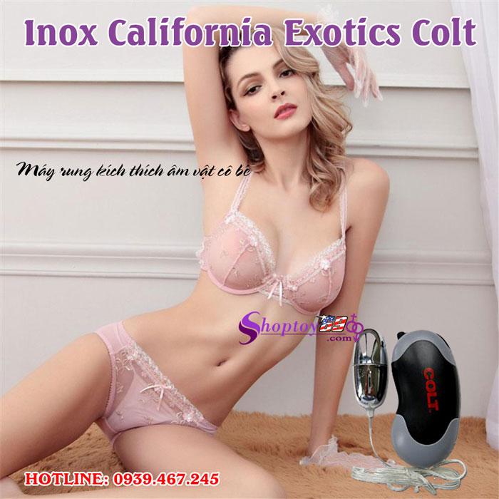 Trứng rung tình yêu Inox California Exotics Colt-6