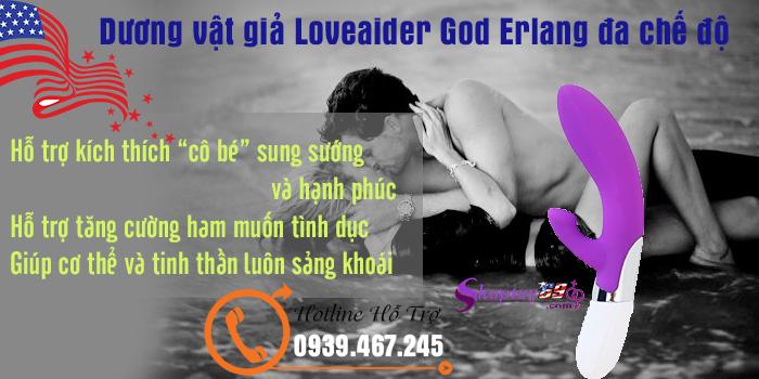 Công dụng Dương vật giả Loveaider God Erlang