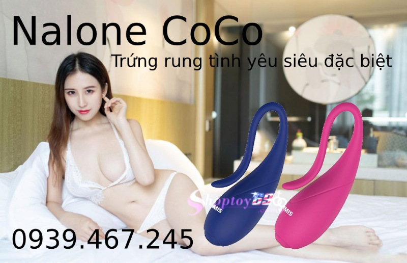 Trứng Rung Tình Yêu Nalone Coco Giải Tỏa Sinh Lý Nhanh Chóng