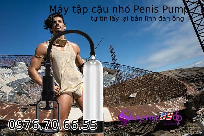 Penis Pump – Máy Tập Cậu Nhỏ Giúp Làm Lớn Và Kéo Dài Cậu Nhỏ