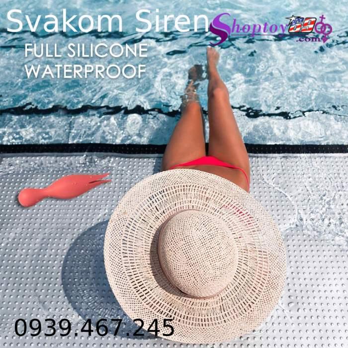Svakom Siren lưỡi đôi rung cường độ cao