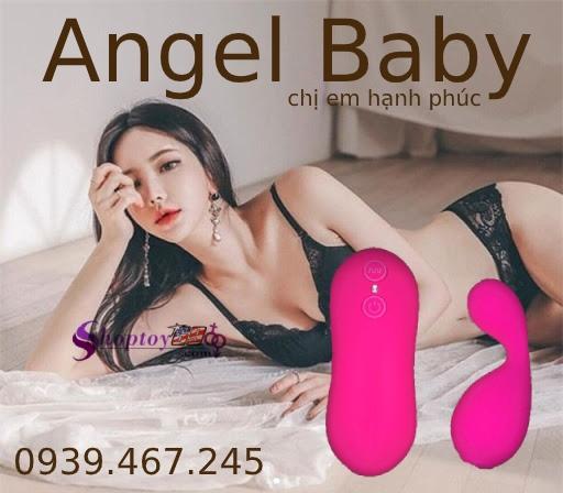 Trứng rung tinh yêu Angel Baby cải thiện tâm sinh lý đến hoàn hảo