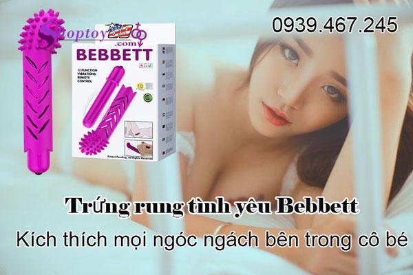 Trứng rung tình yêu Bebbett