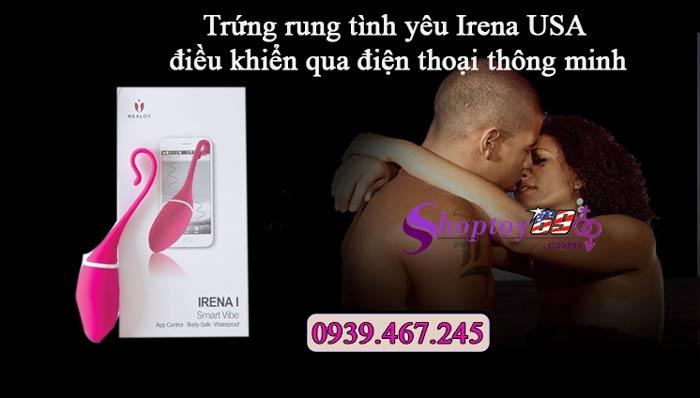 Ưu điểm của trứng rung tình yêu Irena USA