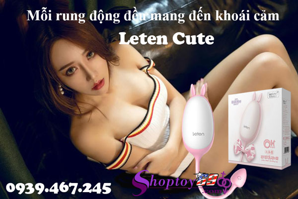 Trứng rung tình yêu Leten Cute
