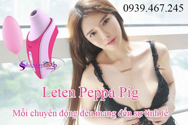 Trứng rung tình yêu Leten Peppa Pig