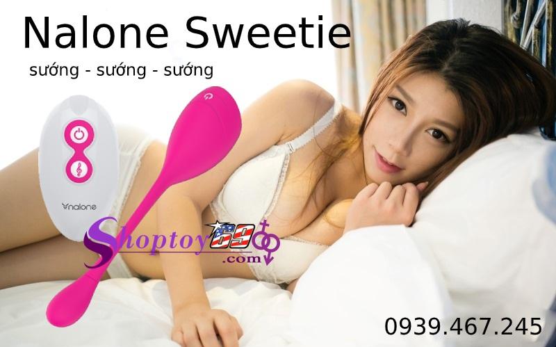 Trứng Rung Điều Khiển Xa Nalone Sweetie Thông Minh