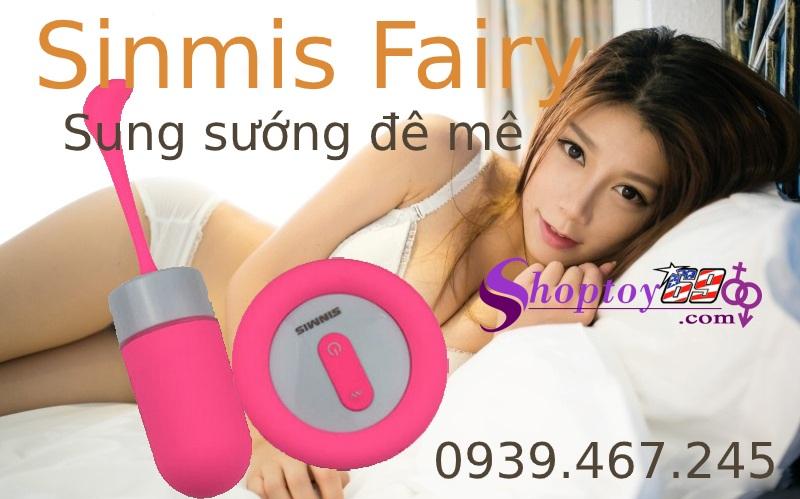 Trung rung tình yêu Sinmis Fairy giúp chị em dễ dàng đạt cực khoái
