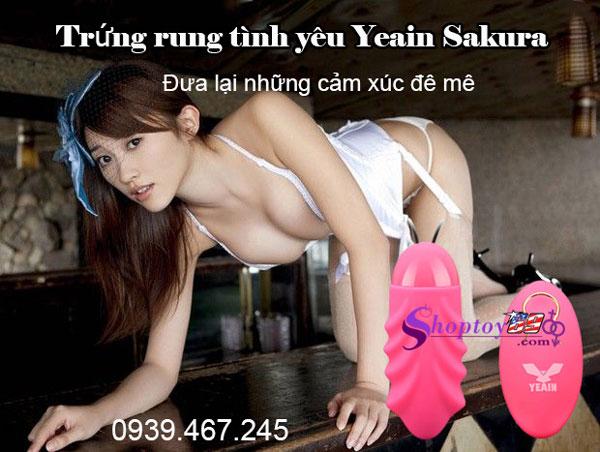 Trứng rung tình yêu Yeain Sakura